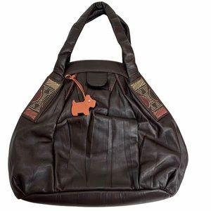 RADLEY Brown Leather Shoulder Bag / Purse.